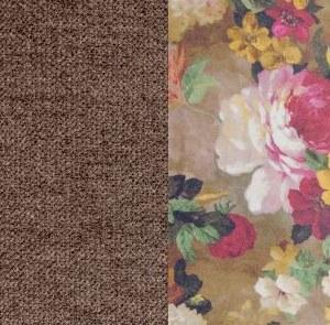 Лаундж 10 коричн.-Фибра 250502 яркие цветы