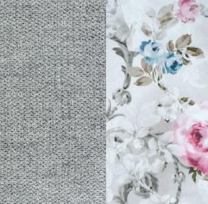 Лаундж 13 серый.-Фибра 27752 Розы