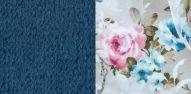 Толидо 26 темно-синий-Фибра 2775-2 Розы