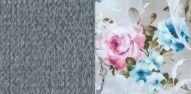 Толидо 32 серый-Фибра 2775-2 Розы