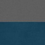 Велутто 19 (темно-серый)/бирюза